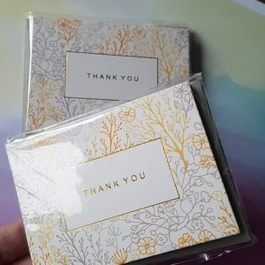 """🆕 NEW 24 Pcs Thank You Cards 2.80""""x3.90"""" inches"""